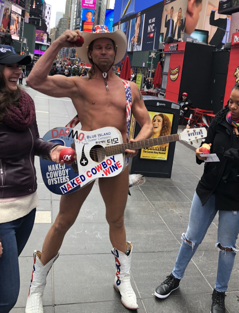 Singing Naked Cowboy | Nothing Is Impossible in New York